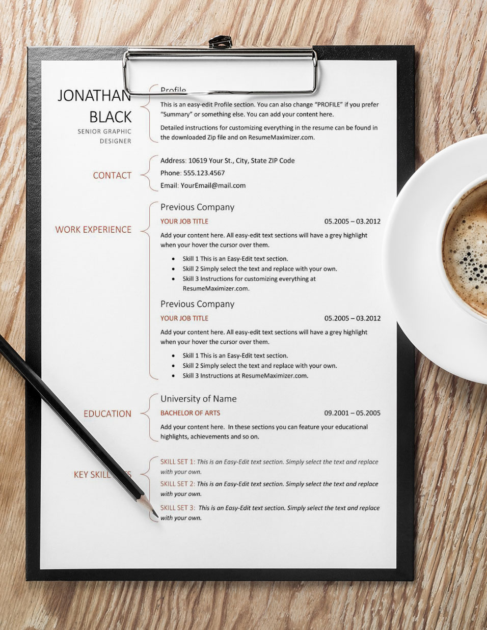 Droplet Prime - Resume with Coffee
