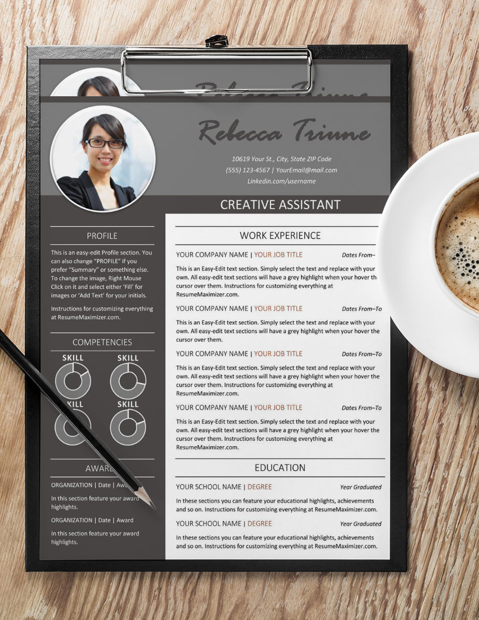 Leading Edge - Resume with Coffee