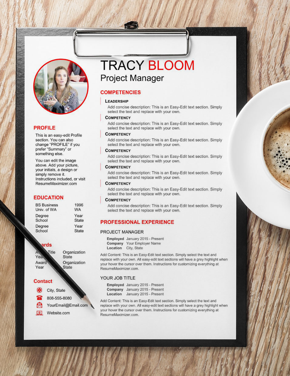 Revealed Pro - Resume with Coffee