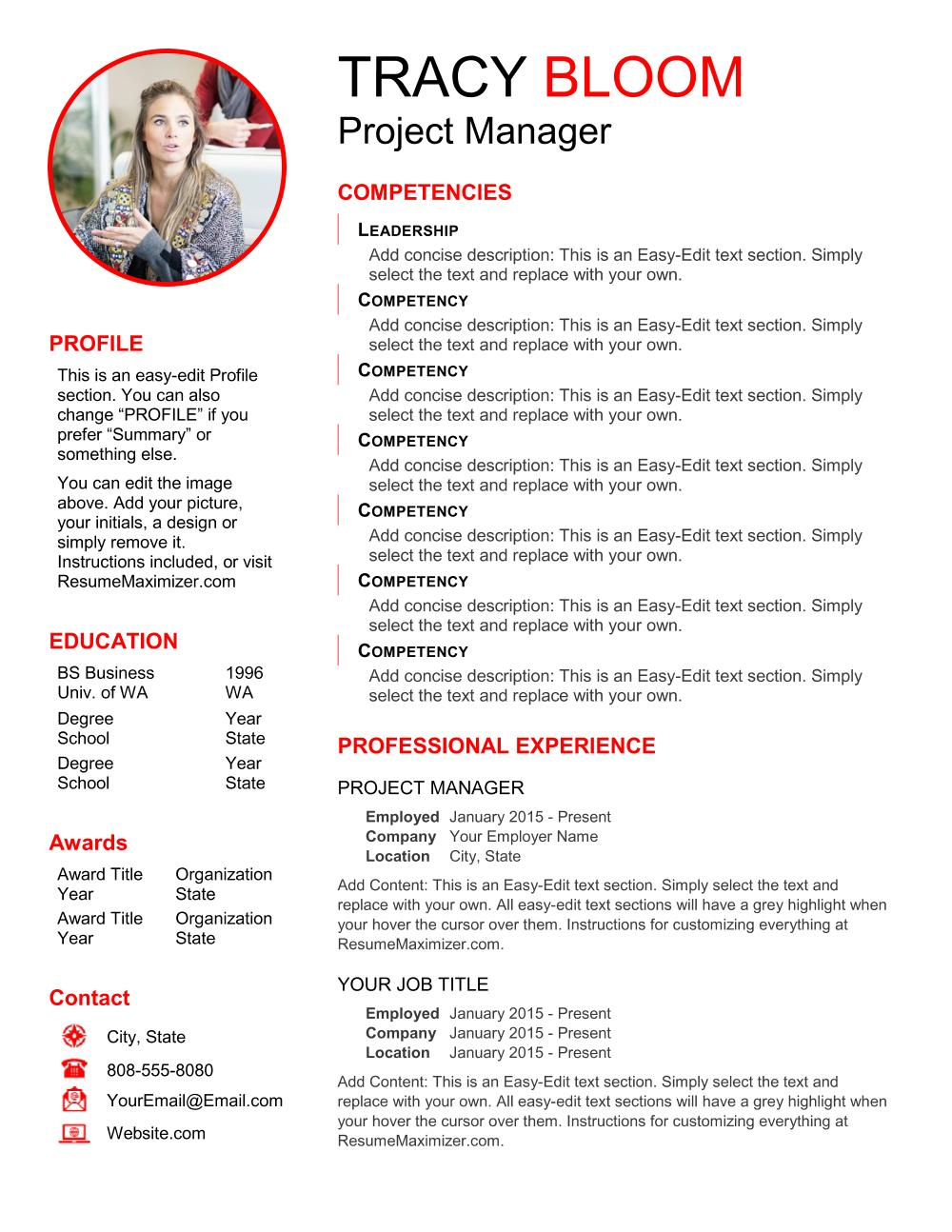 Revealed Pro - Resume