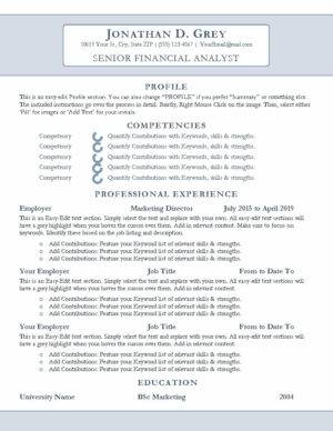 Ascension Resume Template