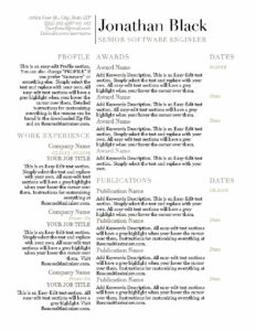 Awarded - Resume_Page1