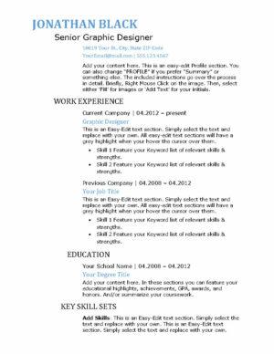 Bold-Resume-US