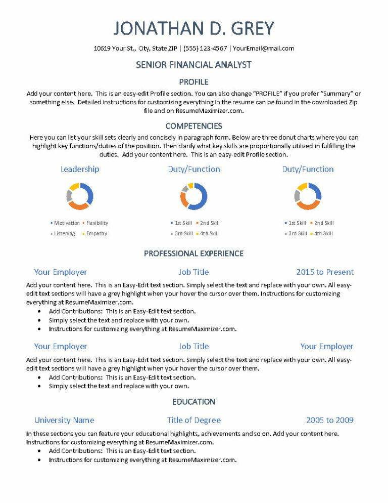 Display - Resume