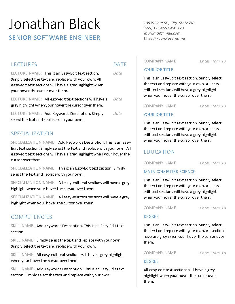 Excellence - Resume_Page2