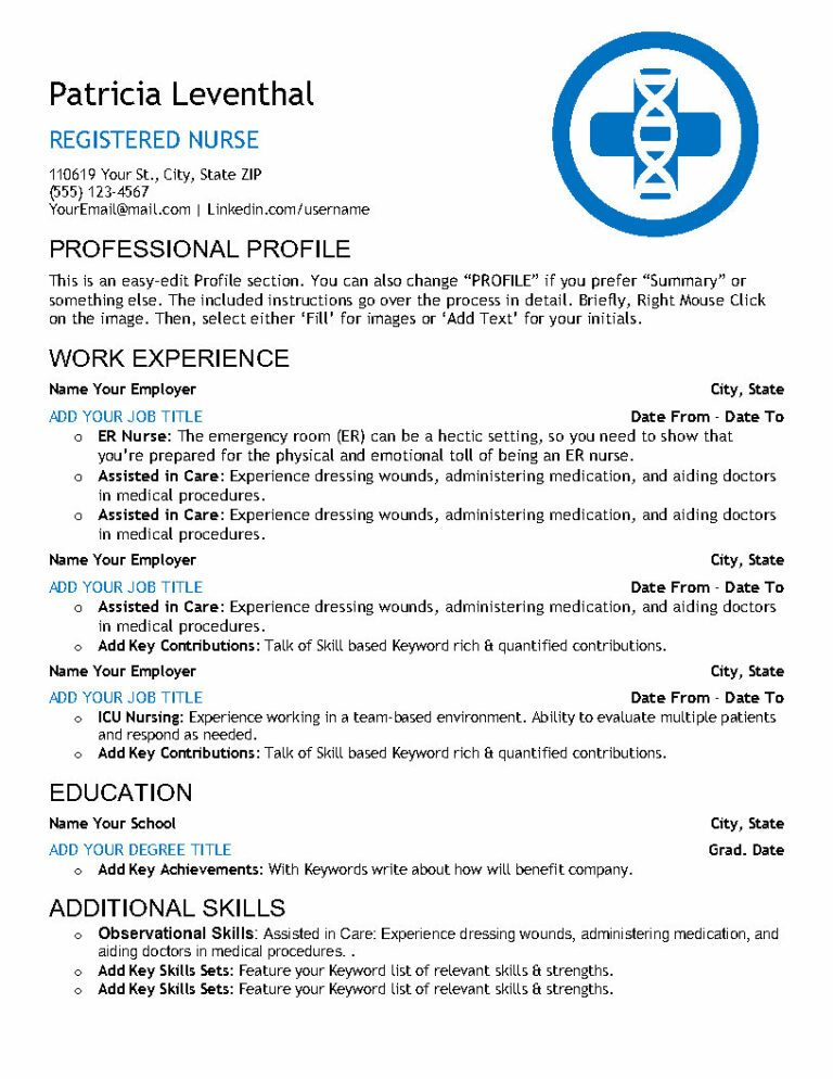 Nursing Essentials-Resume-US