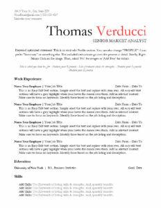 Pro Bold-Resume-US